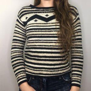 Lauren Jeans Co. Petite Linen Blend Sweater